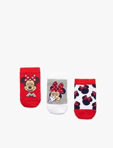 Koton Kids 3'lü Çorap Pembe